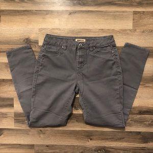 Blue Spice Grey Skinny Jeans